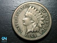 1864 CN Indian Head Cent Penny  --  MAKE US AN OFFER!  #B5510