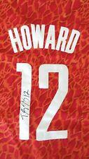 Dwight Howard #12 Signed Houston Rockets Jersey Size Small Autograph