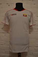 Myanmar National Team Football Shirt Soccer Jersey Lotto White Mens L