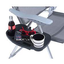 2 X Agrafe Camping Chair Côté Table Extérieur Jardin Pêche Beach Rangement Rangé