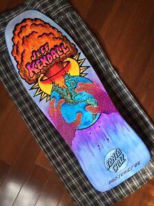 "Santa Cruz Jeff Kendall ""End Of The World"" My Colorway Skateboard Deck"