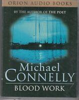 Blood Work Michael Connelly 2 Cassette Audio Book Abridged Crime Thriller