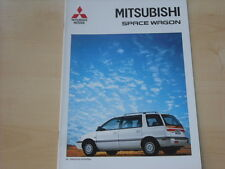 52717) Mitsubishi Space Wagon Prospekt 12/1992