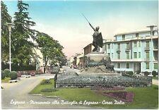 LEGNANO - MONUMENTO ALLA BATTAGLIA DI LEGNANO - CORSO ITALIA (MILANO) 1961