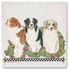 Australian Shepherd Aussie Dog Christmas Kitchen Towel Holiday Pet Gifts