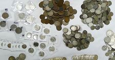 17 Coin Lot From Huge Estate Buy! Silver,Wwii,Ancient,India n,Buffalo, 1800'S!