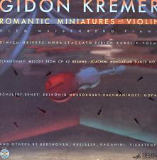 LP GIDON KREMER ROMANTIC MINIATURES FOR VIOLIN OLEG MAISENBERG
