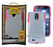 New OtterBox Commuter Case for Samsung Galaxy S4 Gray/Pink * Cover OEM Original