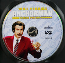 ANCHORMAN DVD Movie Film - DISC ONLY *