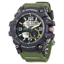 Casio GG1000-1A3 Mens G-Shock Ana-Digi Dial Green Resin Band Watch