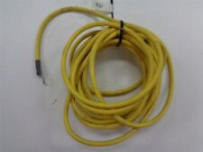 6 AWG GAUGE YELLOW ELECTRICAL CABLE 60V WITH LUGS 25' FEET MARINE BOAT