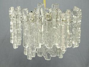 Kalmar Eisglas Kronleuchter Lüster Glas