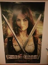 Large movie banner / poster - Pirates of the Caribbean (Angelica) 240 x 150 cm.