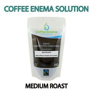 COFFEE ENEMA SOLUTION MEDIUM AIR ROASTED - 56 POUCHES - GERSON ORGANIC FAIRTRADE