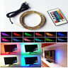 LED Light USB Lamp for Cupboard Table Canbinet Kitchen Room Stair 0.5-2M RGB 5V