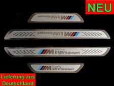 BMW Power Motorsport Edelstahl Set Einstiegsleisten Design X5 E70 X6 E71 X1 E84