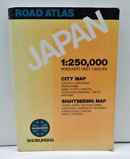 Road Atlas Japan 1:250,000 City Map Sightseeing Map 2005 Tokyo Osaka Kobe Kyoto
