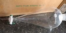 KIMBLE LAB SCIENTIFIC GLASS FUNNEL SEPERATOR 2000 ML NEW IN BOX