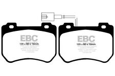 EBC Ultimax Front Brake Pads for Alfa Romeo Brera 2.0 TD (170 BHP) (2009 > 10)