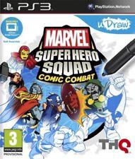 Thq Ps3 - Marvel Super Hero Squad Comic Combat (software per Udraw)
