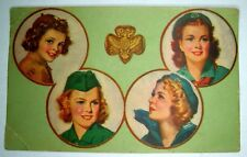 GIRL SCOUT Card 1950 member  Brownie INTERESTING  KNOXVILLE TENNESEE