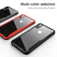 Clear Armor Silicone Bumper Shockproof Case Cover for iPhone XR XS Max X 8 7 5s