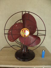 vintage electric fan old retro bakélite machine age antique mid century vtg