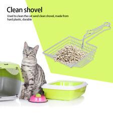 Cat Litter Box Scoop Scooper Pet Sifter Metal Shovel Long Holder Cleaning Tool