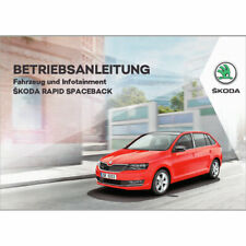 Skoda Rapid Spaceback NH ab 2017 Betriebsanleitung Bordbuch DEUTSCH Manual