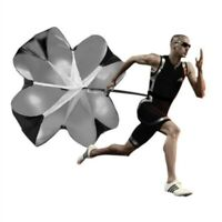 "New 56""inch Speed Training Resistance Parachute Chute Power For Running Sport"