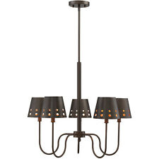 Savoy House 1-6050-5-86 Kimball Cuprum Black Five-Light Chandelier