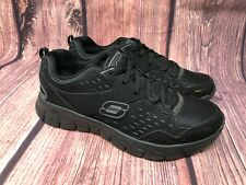 Skechers Synergy - A Lister Women's Black Memory Foam Athletic Shoes Size 8.5