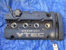 92-01 JDM Honda Prelude H23A valve cover engine motor H22A H22A4 VTEC Blue OEM