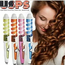 Electric Hair curler spiral wond  Professional magic pro Hair curlers iron