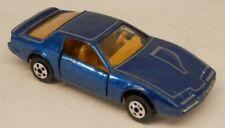 Road Champs 1982-1984 Pontiac Firebird Trans-Am T/A Blue w/Box #56 1/64 Scale