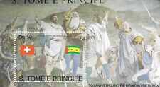 Sao Tome and Principe : 700 th. Anniversary Swiss Confederation (1990) MNH