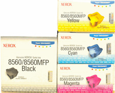 Encre Original XEROX Phaser 8560 8560mfp Black Cyan Magenta Yellow Genuine Ink
