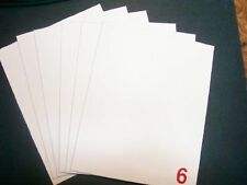 6 - 8x10 XF Blank Canvas Panels Art Canvases Artists