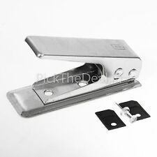 MICRO SIM CUTTER FOR APPLE iPHONE 4 4G iPAD 2 4S S 3G 3 SAMSUNG S3