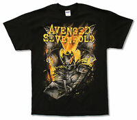 Avenged Sevenfold Shepherd Of Fire 2014 Tour BC-OH Black T Shirt New A7X