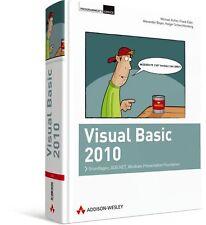 Visual Basic 2010 - Grundlagen, ADO.NET, WPF 1.280 Seiten Addison Wesley NEU