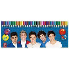 One Direction 'Season 13' 50 Piece Colouring Pencils Tin Case Gift