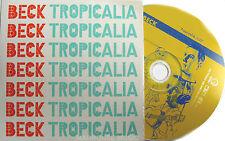 BECK CD Tropicalia UK DJ 1 Track PROMO 1998 Card Slip-in Sleeve