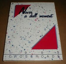 1989 old Albemarle High School Yearbook North Carolina NC Stanly County