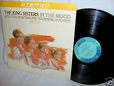 KING SISTERS-IN THE MOOD pop vocal LP