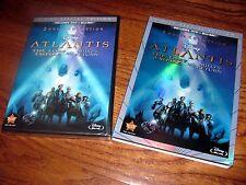 Atlantis: The Lost Empire/ Milo's Return DVD+Blu-ray, 3-Disc] New + I Ship Fast