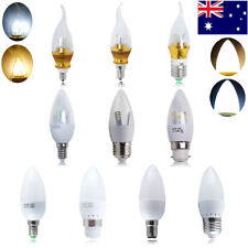 6x E14 E27 B15 B22 3W 5W 6W 7W 8W LED SMD Candle Light Bulbs Spotlight Reflector