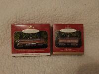 "Lionel Christmas Ornament Norfolk & Western ""J"" Steam Locomotive & Tender"
