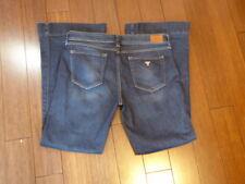 Women's GUESS Los Angeles Brittney Flare Dark Blue Jeans -Sz 30