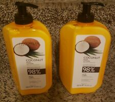 2 Phytorelax Labs Coconut Body Lotion W/Pure Coconut Oil 98% Natural16.9 oz Rare